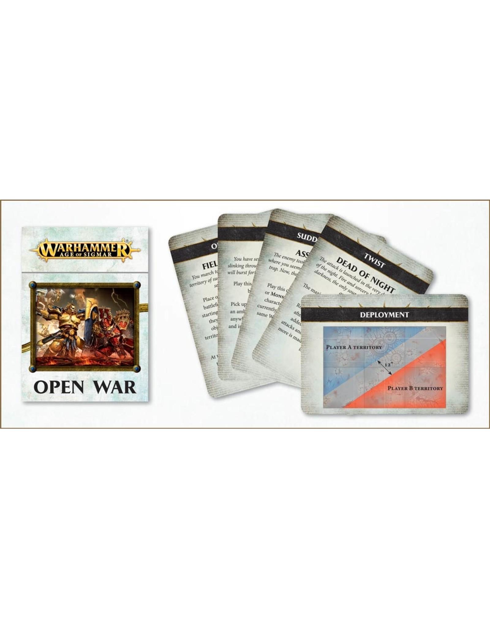 Games Workshop Age of Sigmar: Open War Cards