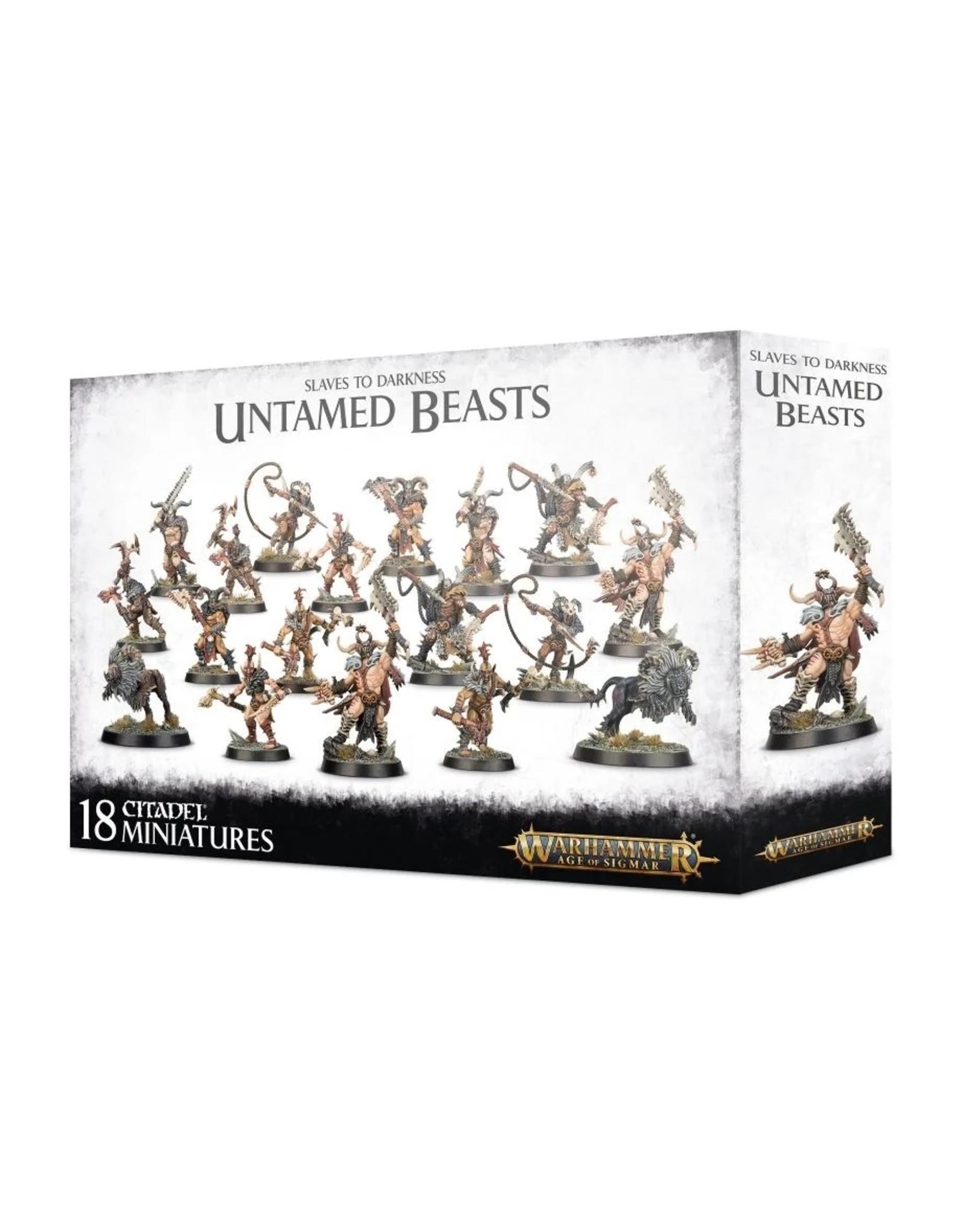 Games Workshop Slaves to Darkness: Untamed Beasts