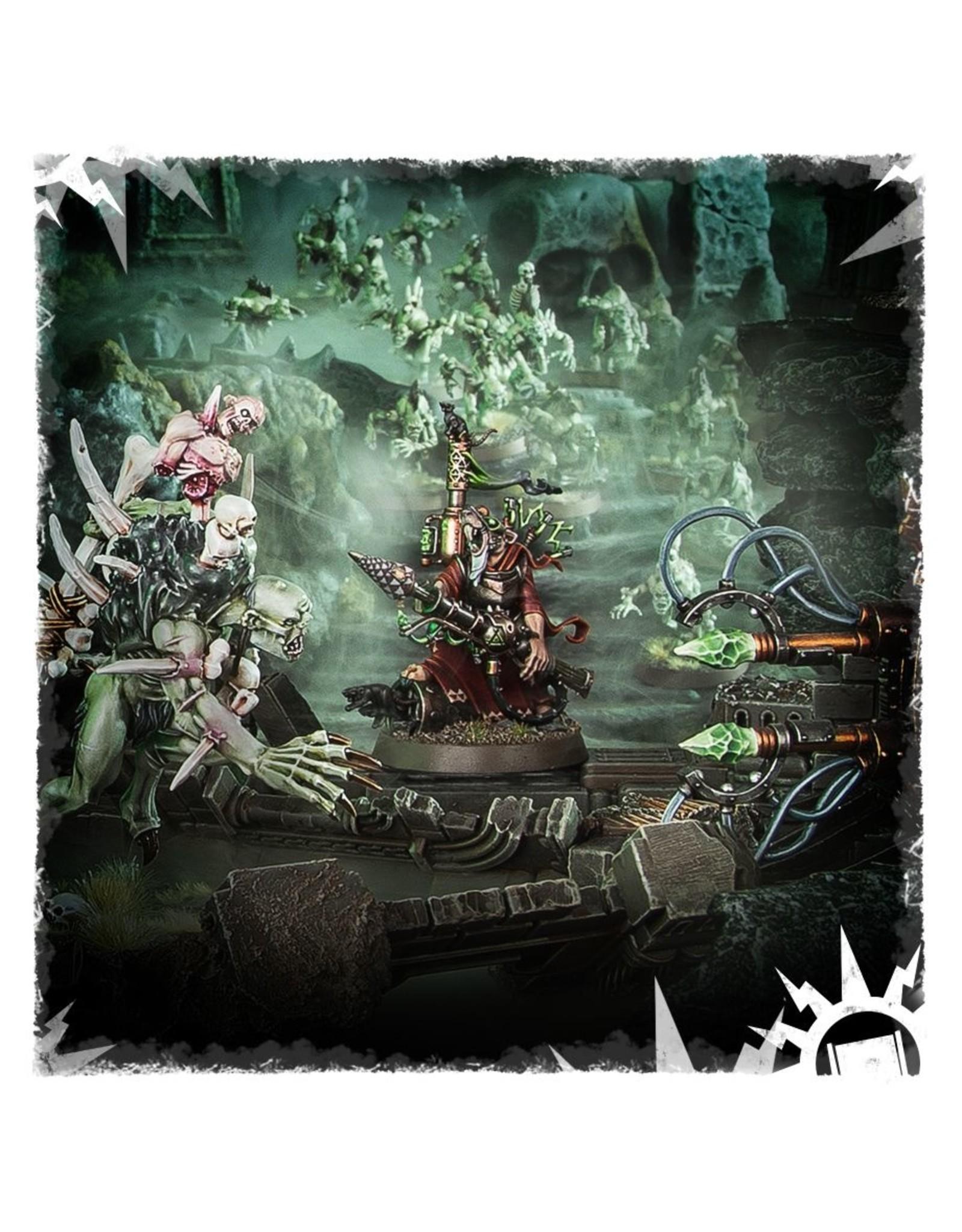 Games Workshop Skaven: Warlock Bombadier