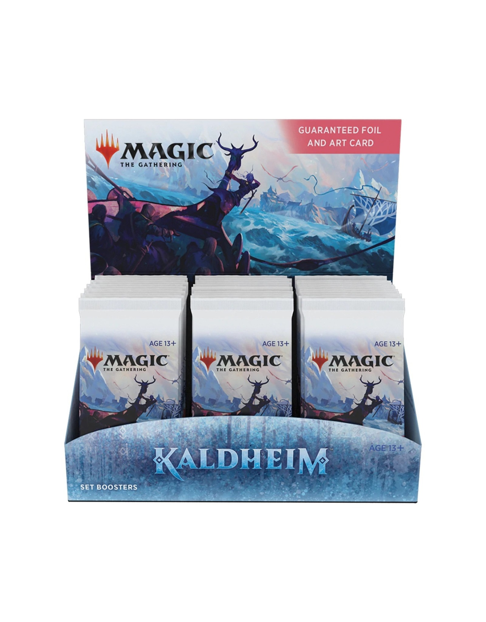 Wizards of the Coast MtG: Kaldheim Set Booster Box