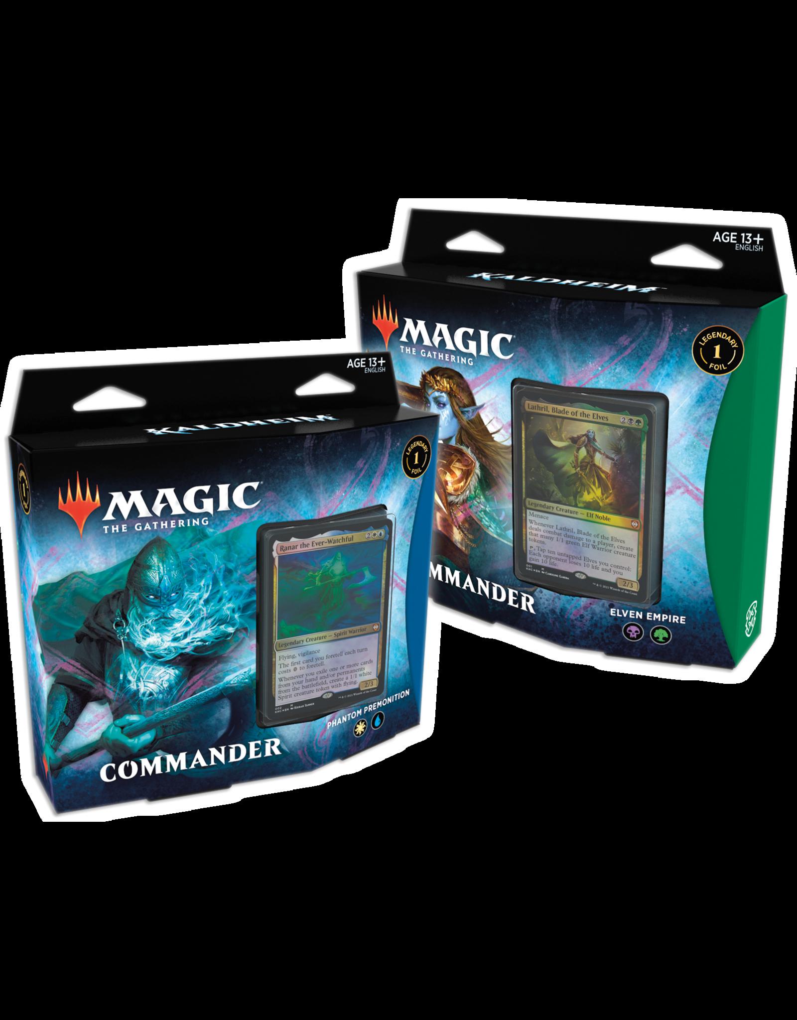 Wizards of the Coast MtG: Kaldheim Commander Decks