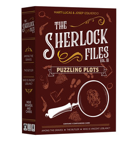 Indie Boards & Cards The Sherlock Files: Puzzling Plots