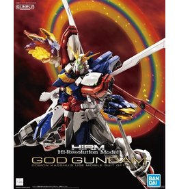 "Bandai ""God Gundam'' Hi-Resolution Model"