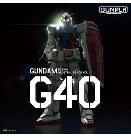 Bandai Gundam G40 (Industrial Design Ver.) Model Kit
