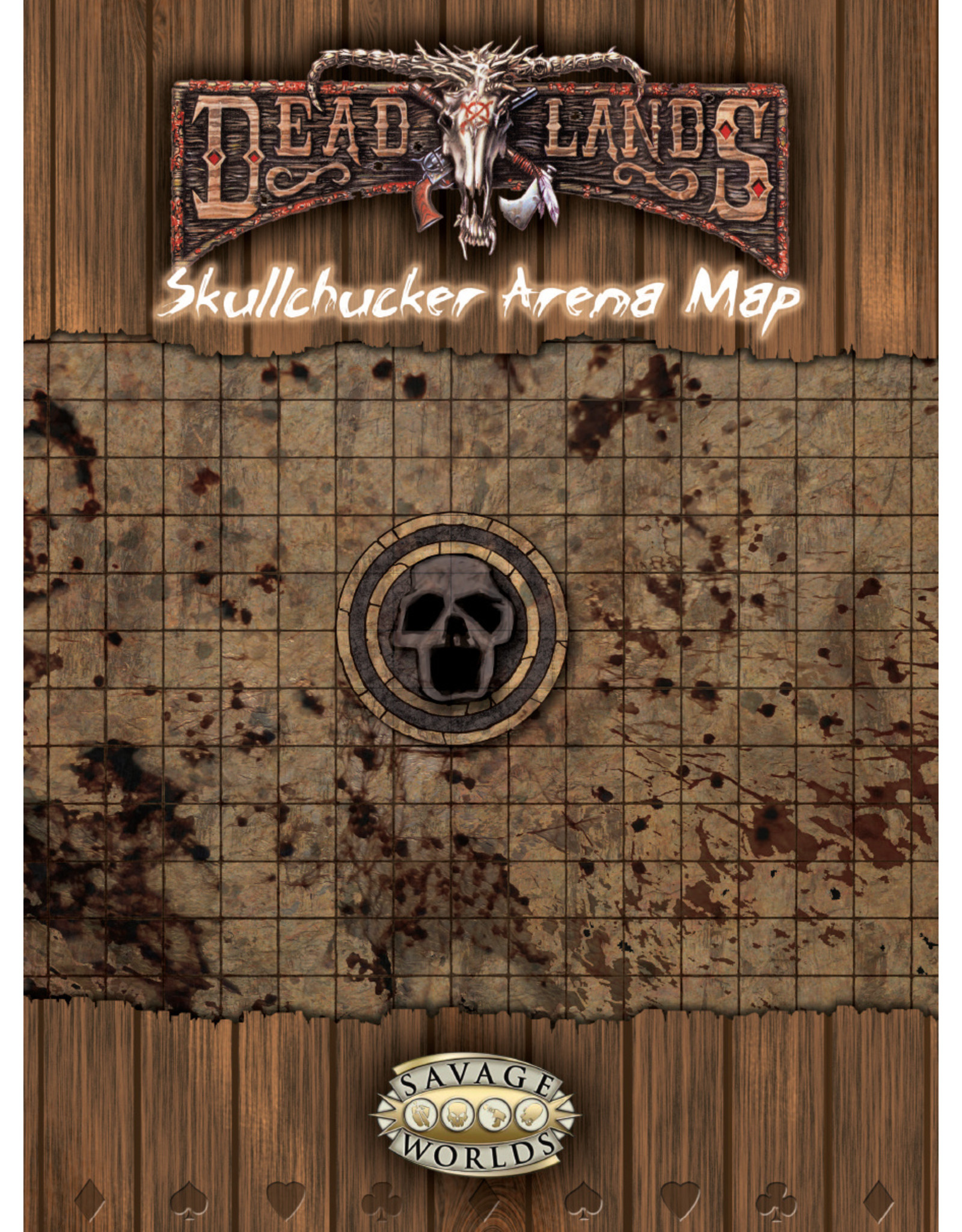 Pinnacle Entertainment Group Savage Worlds: Deadlands - City o Gloom & Skullchucker Arena Map