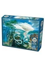 """Cobble Hill """"White Dragon"""" 500 Piece Puzzle"""