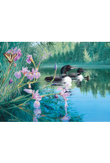 "Cobble Hill ""Iris Cove Loons"" 500 Piece Puzzle"