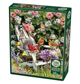 "Cobble Hill ""Summer Adirondack Birds"" 1000 Piece Puzzle"