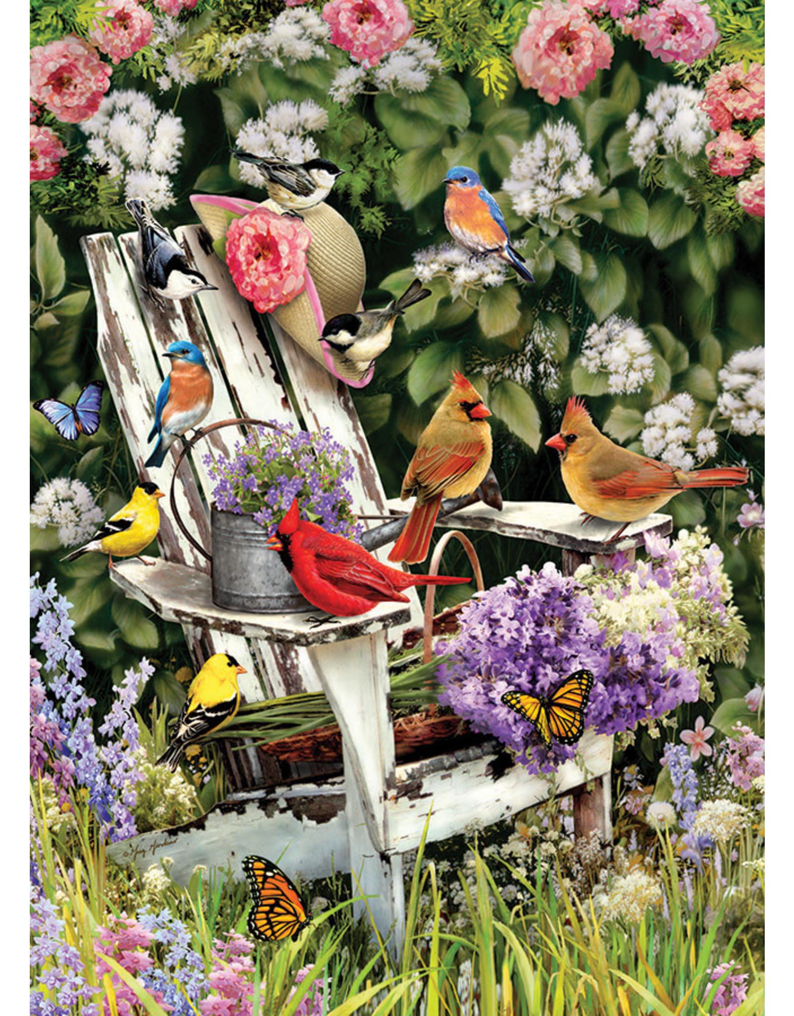 "Cobble Hill ""Summer Adirondack Birds"" 1000 Piece Puzzle"