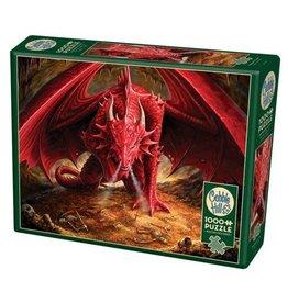 """Cobble Hill """"Dragon's Lair"""" 1000 Piece Puzzle"""