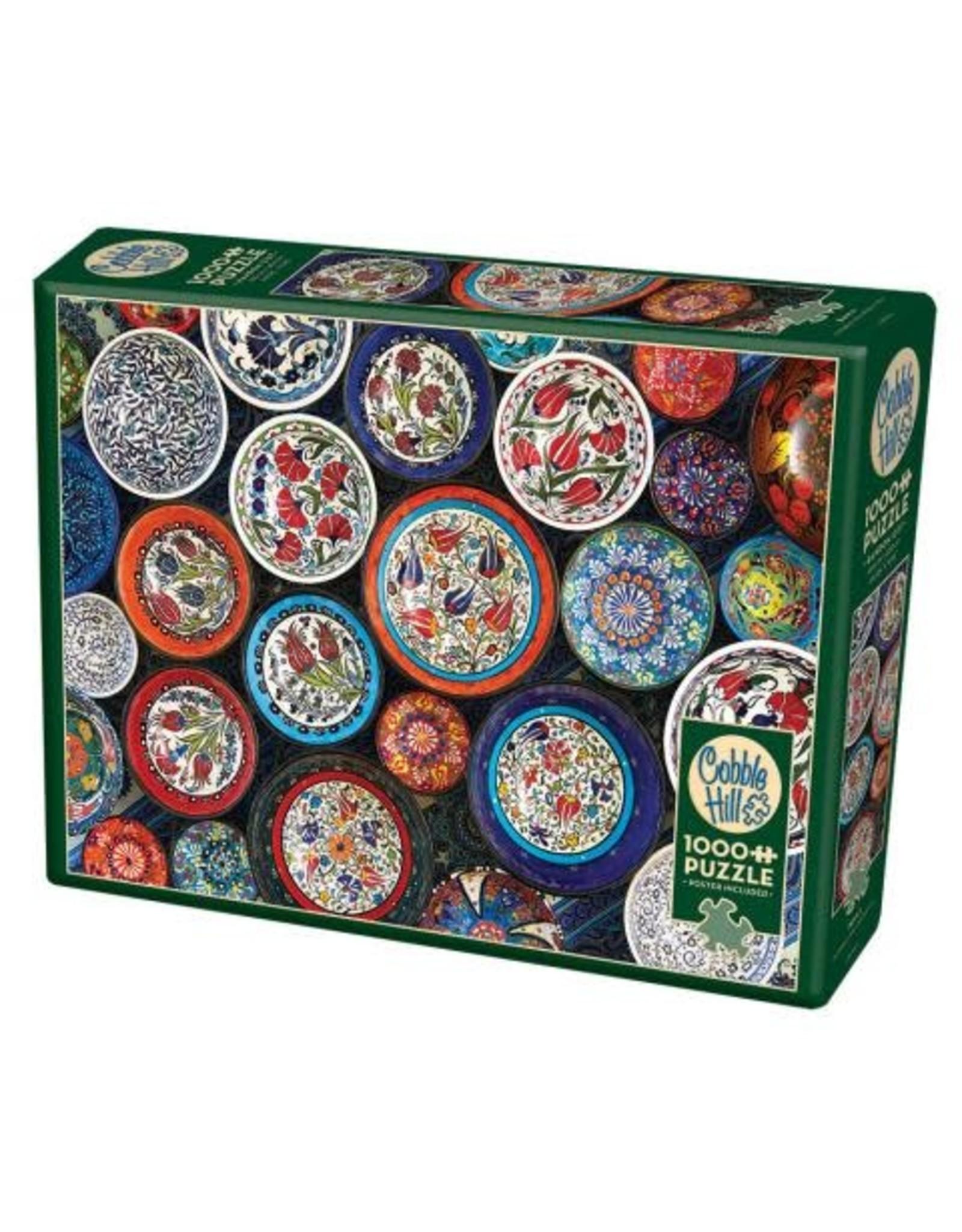 """Cobble Hill """"Bowls"""" 1000 Piece Puzzle"""