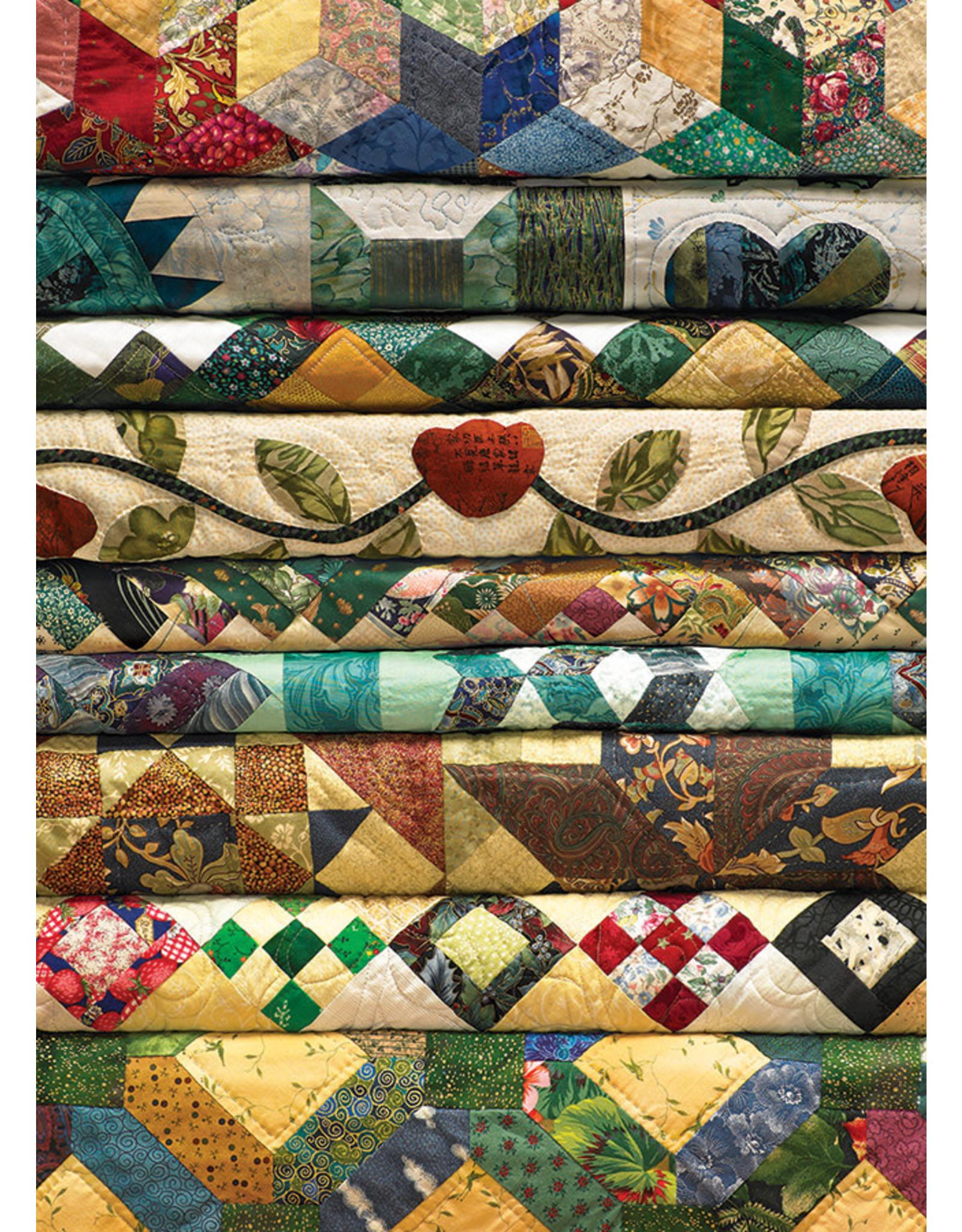 "Cobble Hill ""Grandma's Quilts"" 1000 Piece Puzzle"