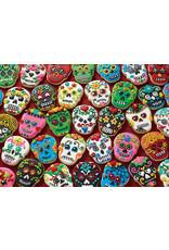"Cobble Hill ""Sugar Skull Cookies"" 1000 Piece Puzzle"