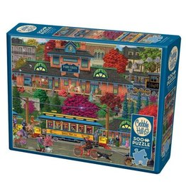 """Cobble Hill """"Trolley Station"""" 500 Piece Puzzle"""