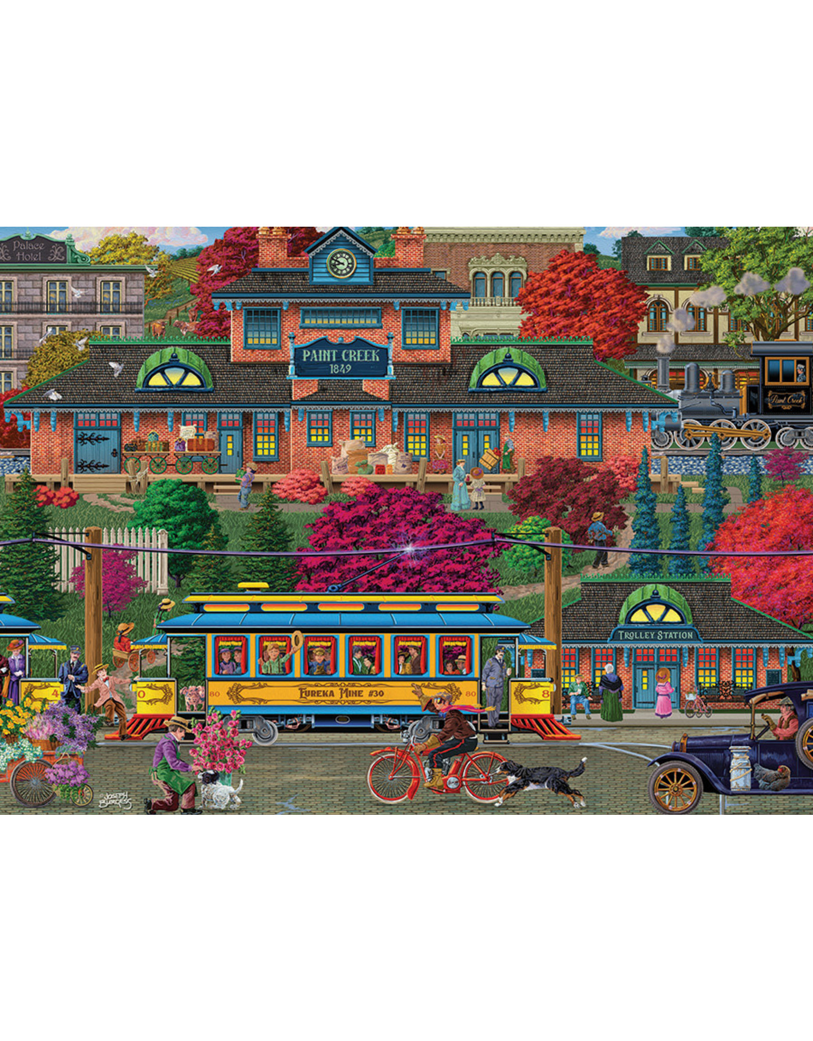 "Cobble Hill ""Trolley Station"" 500 Piece Puzzle"