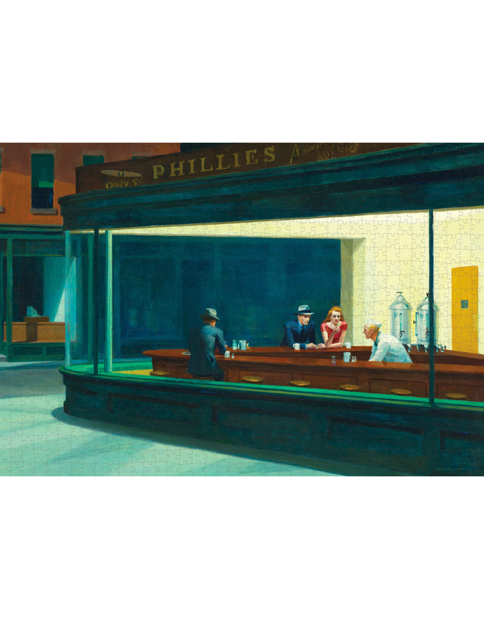 "Pomegranate ""Nighthawks"" 1000 Piece Puzzle"