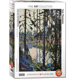 """Eurographics """"Study for Northern River"""" 1000 Piece Puzzle"""
