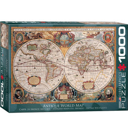 "Eurographics ""Orbis Geographica World Map"" 1000 Piece Puzzle"