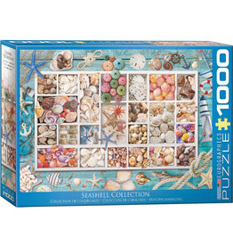 "Eurographics ""Seashell Collection"" 1000 Piece Puzzle"