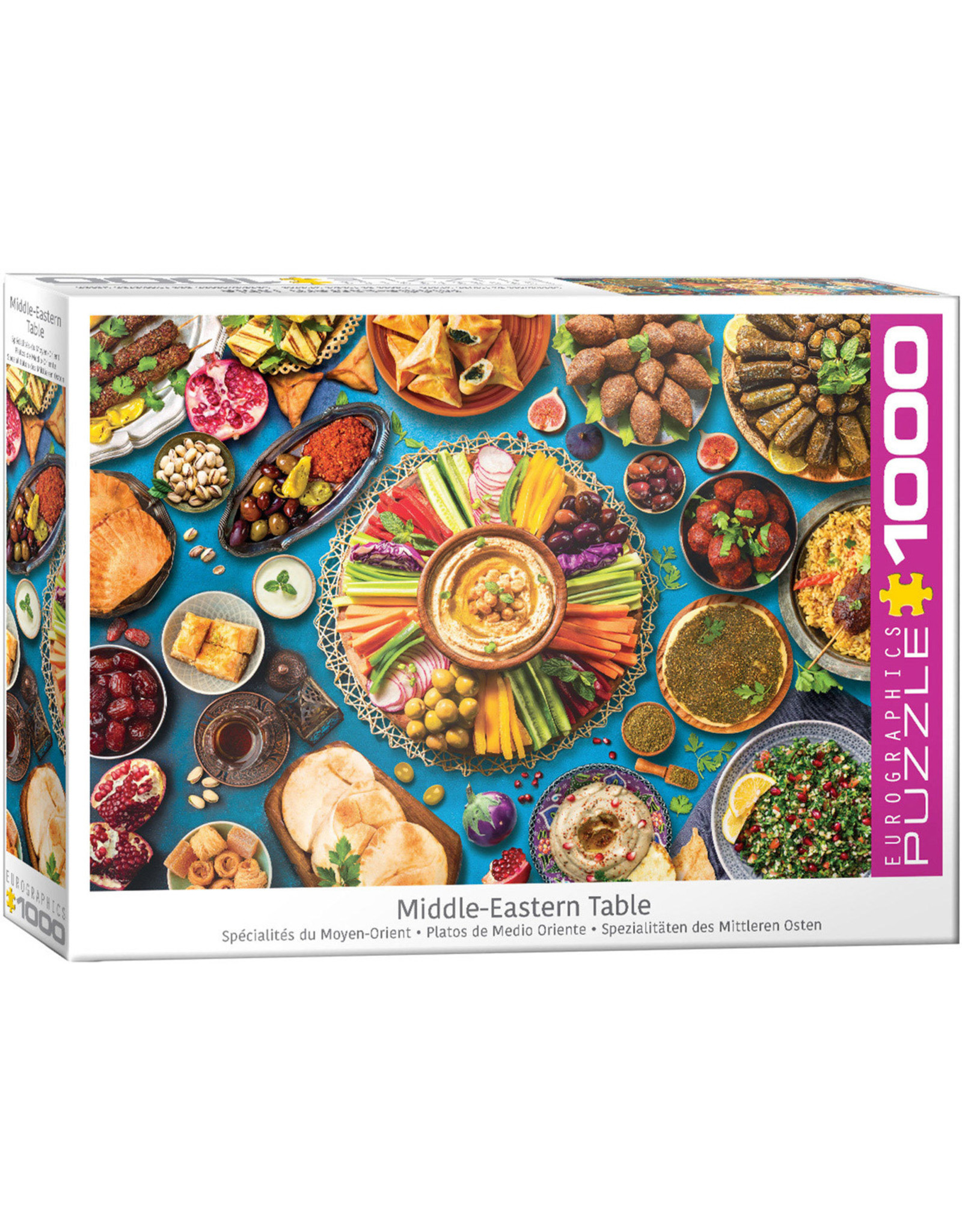 """Eurographics """"Middle Eastern Table"""" 1000 Piece Puzzle"""