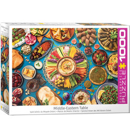 "Eurographics ""Middle Eastern Table"" 1000 Piece Puzzle"