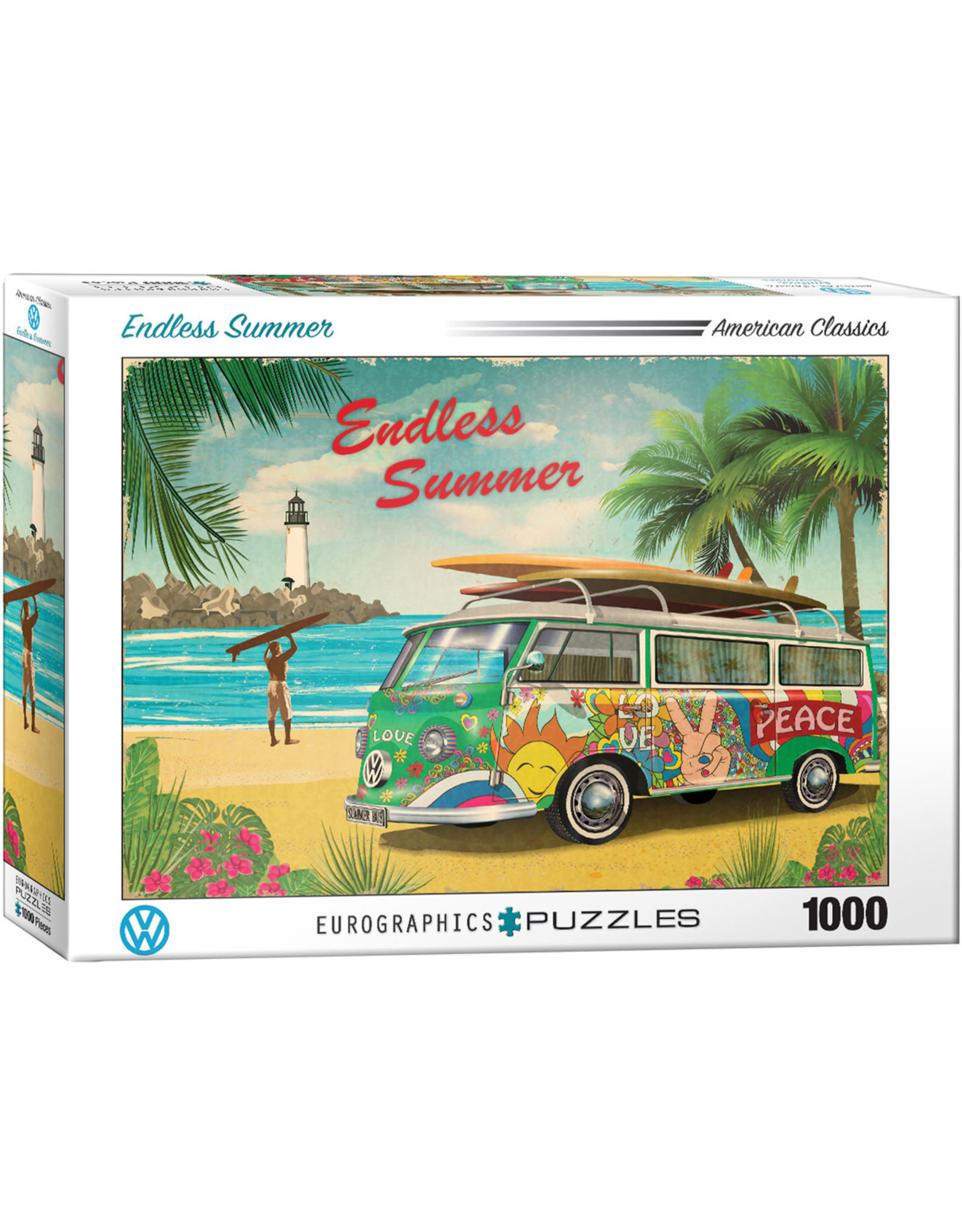 "Eurographics ""VW Endless Summer"" 1000 Piece Puzzle"