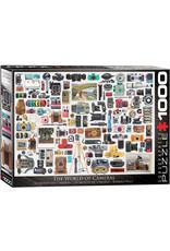 "Eurographics ""World of Cameras"" 1000 Piece Puzzle"