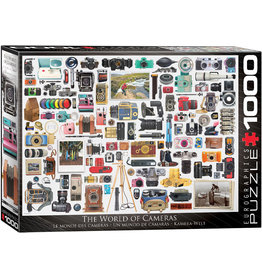 "Eurographics ""World of Cameras"" 1000 Piece Puzzle"