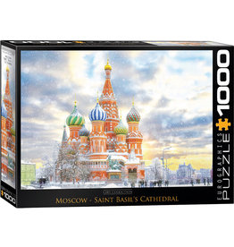 "Eurographics ""Moscow, Russia"" 1000 Piece Puzzle"