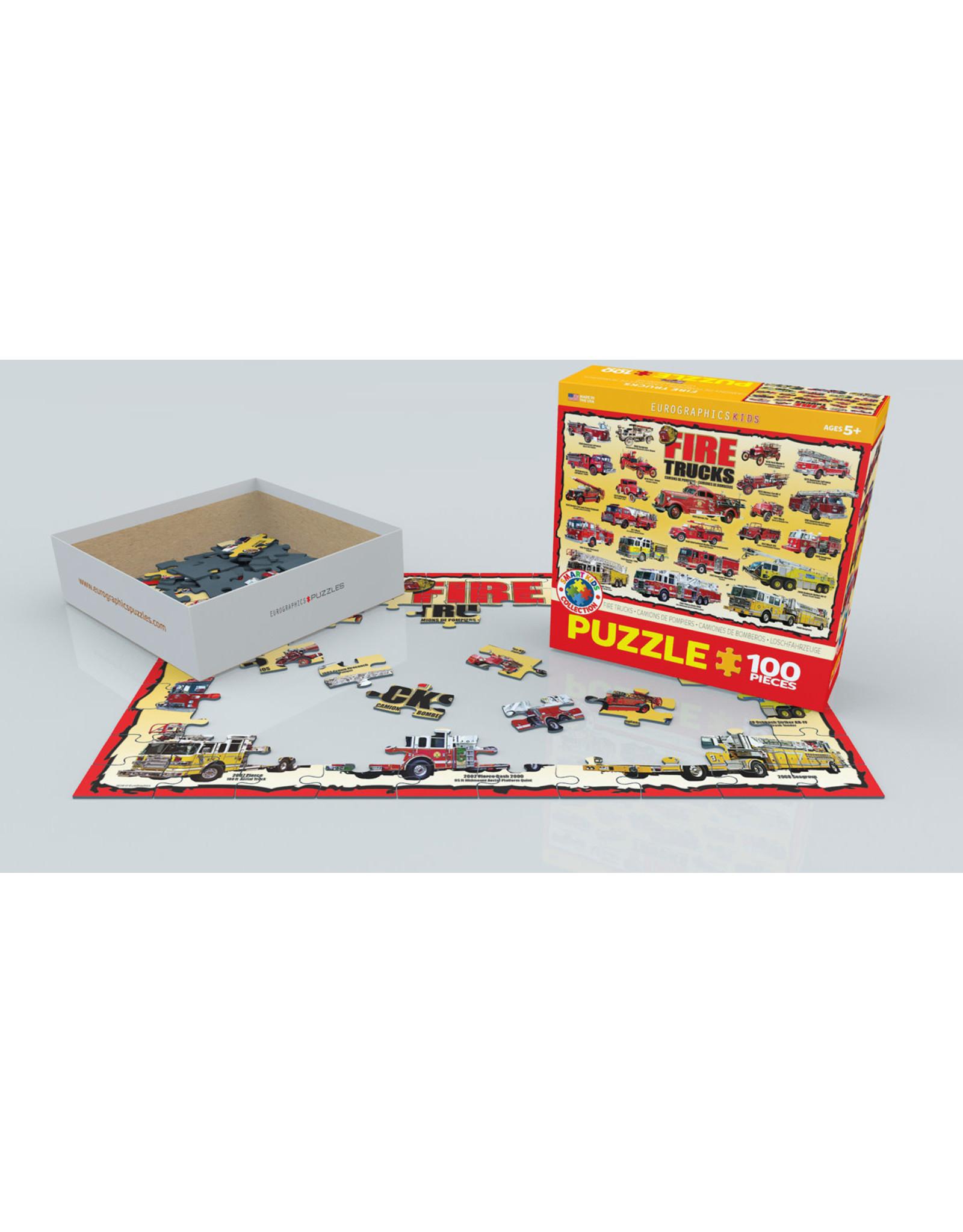 "Eurographics ""Fire Trucks"" 100 Piece Puzzle"