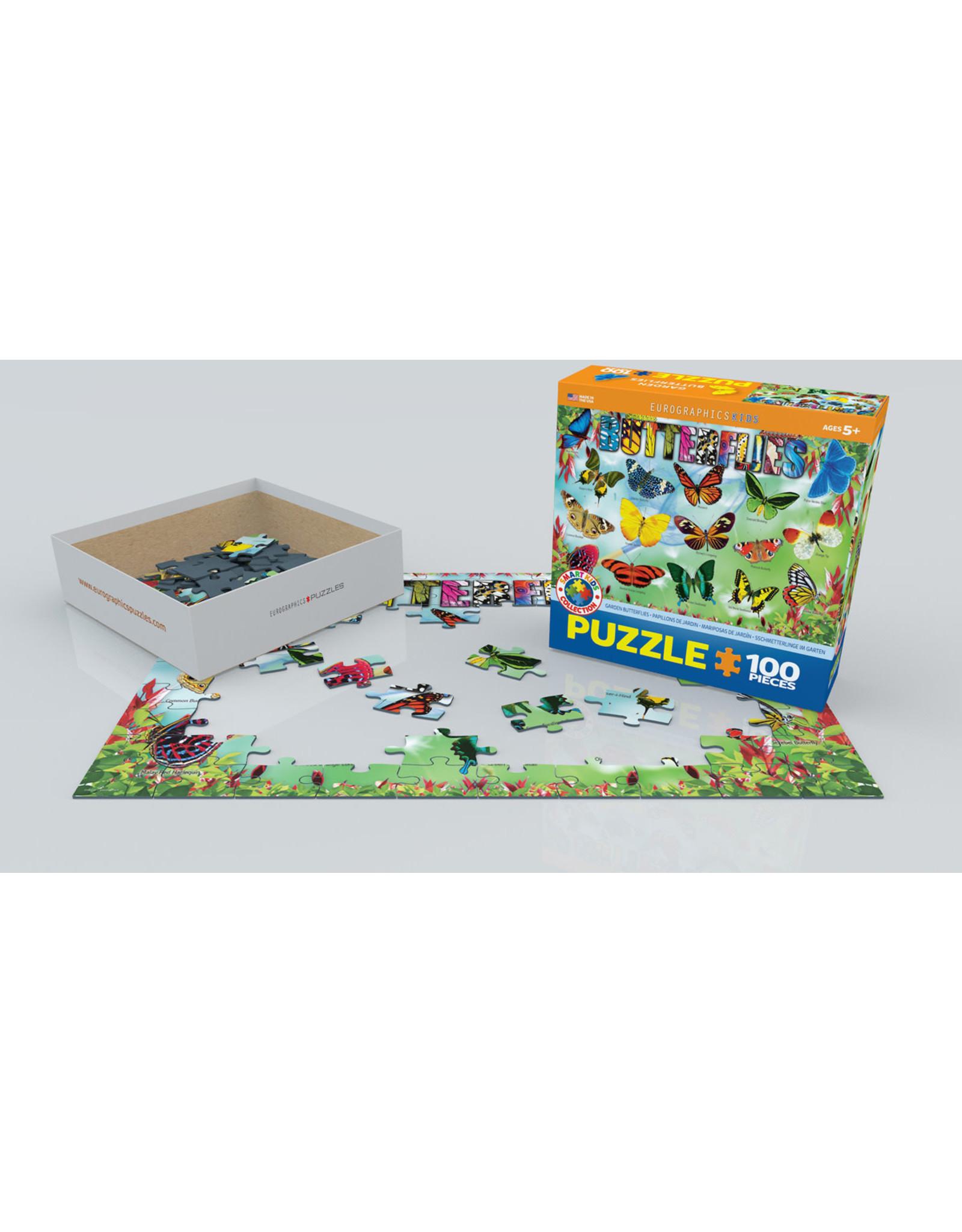 "Eurographics ""Butterflies"" 100 Piece Puzzle"