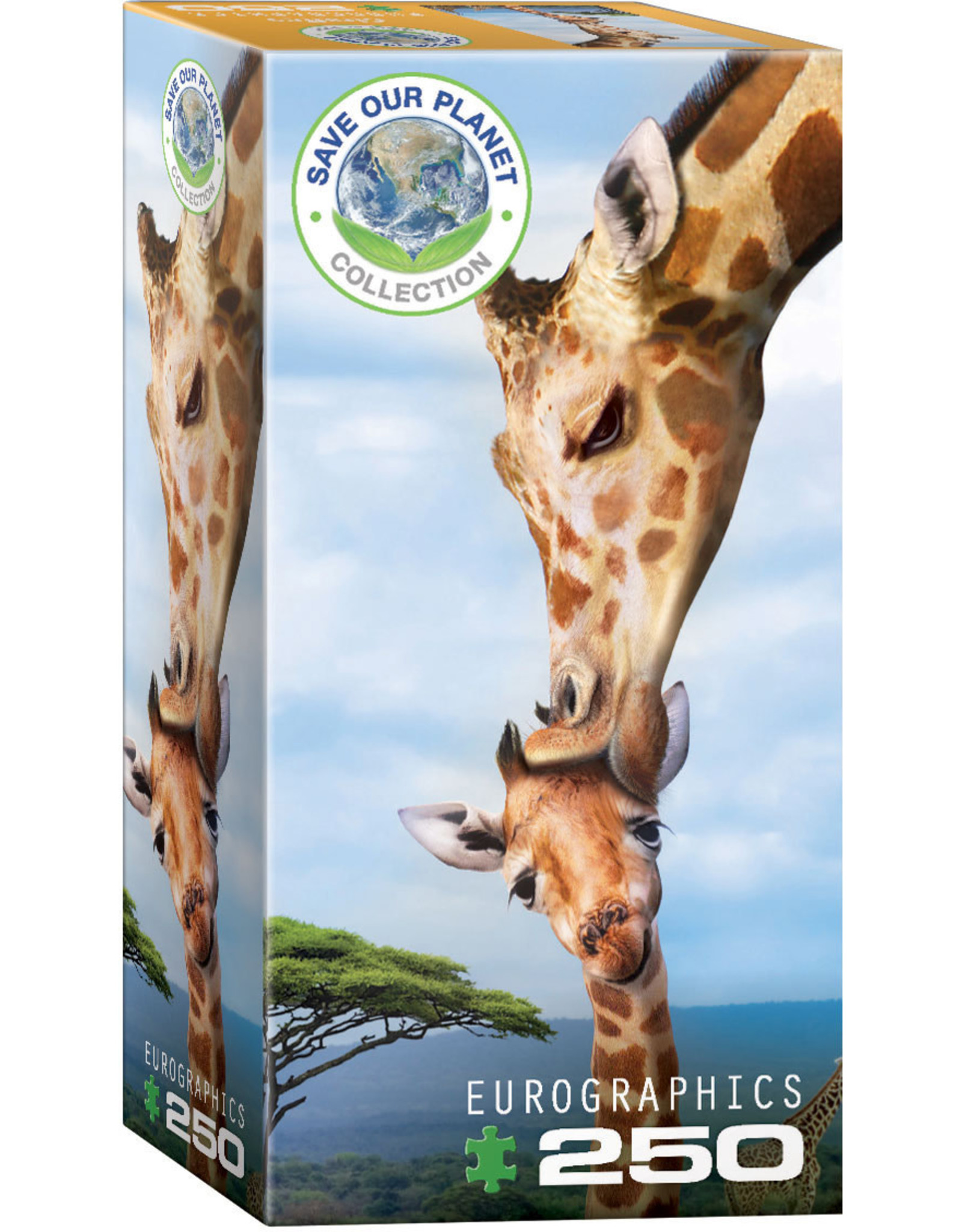 "Eurographics ""Giraffes"" 250 Piece Puzzle"