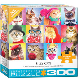 "Eurographics ""Silly Cats"" 300 Piece Puzzle"