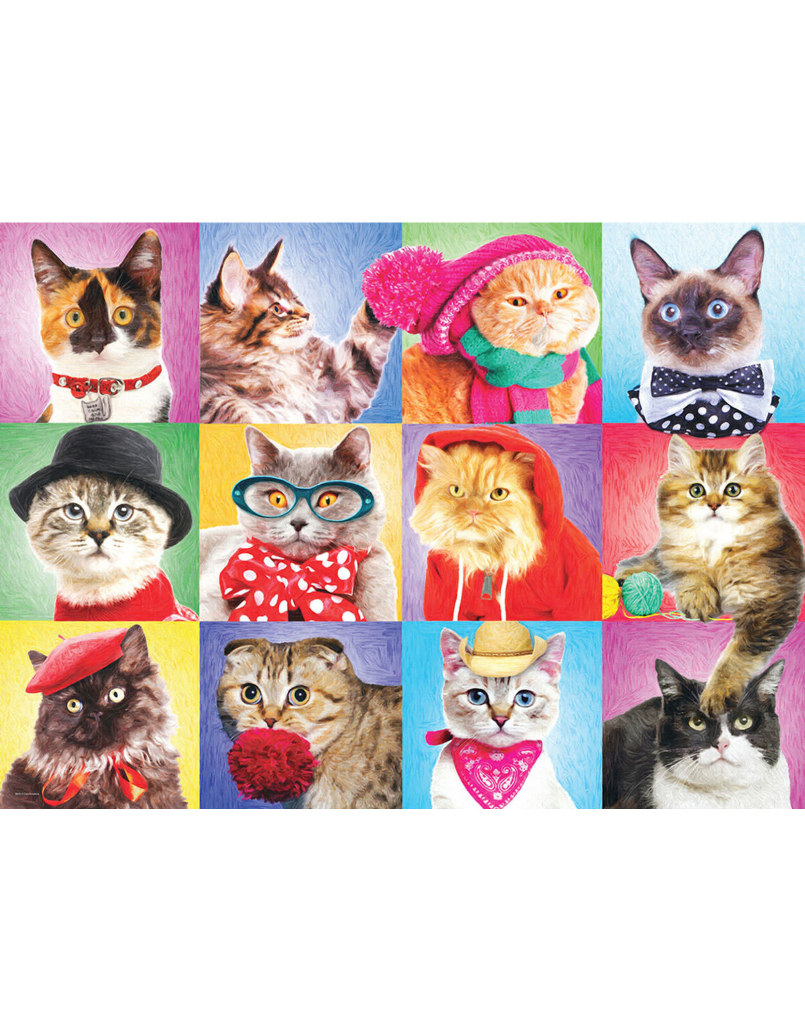 """Eurographics """"Silly Cats"""" 300 Piece Puzzle"""