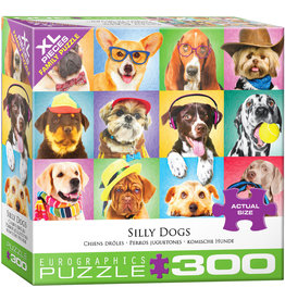 """Eurographics """"Silly Dogs"""" 300 Piece Puzzle"""