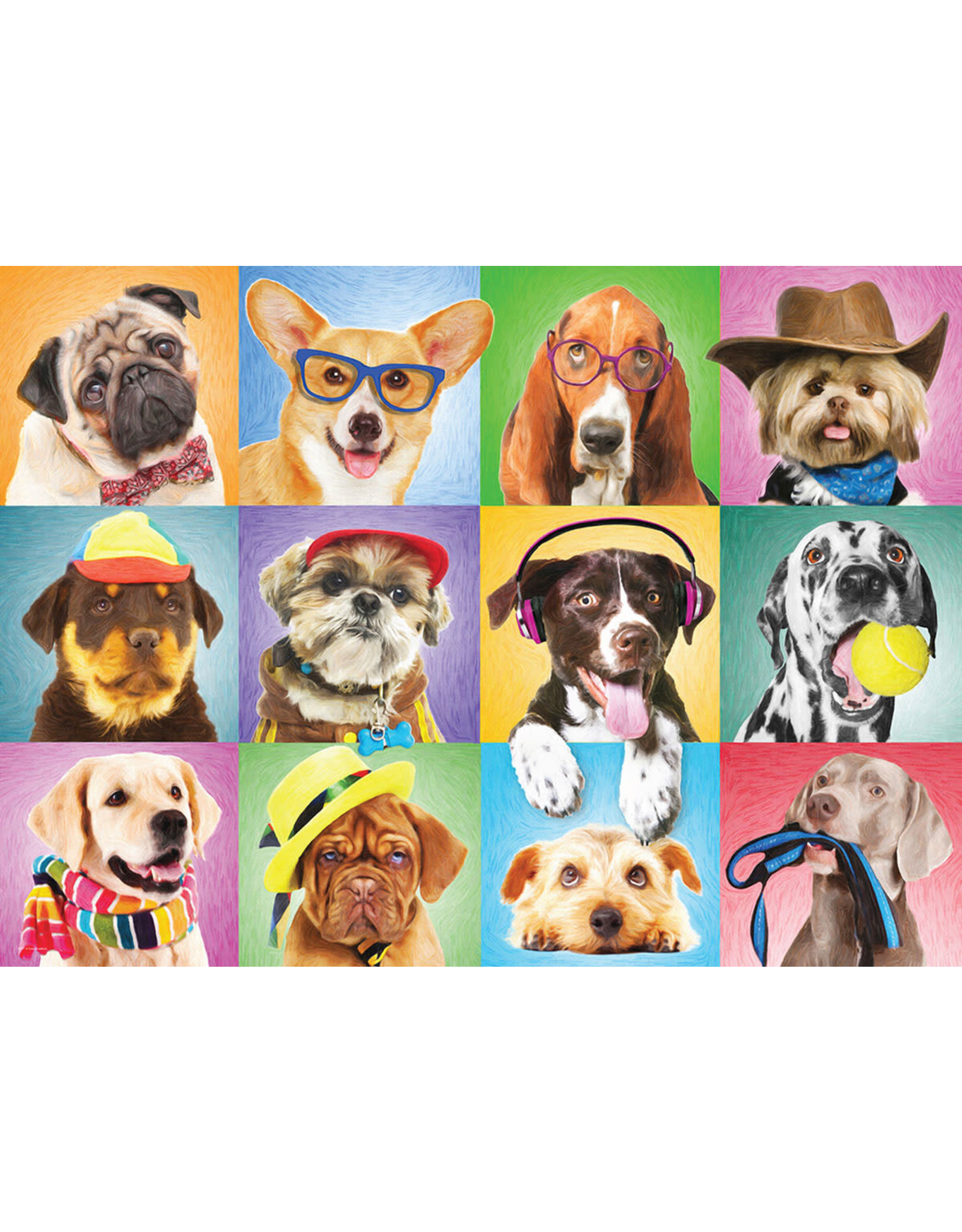 "Eurographics ""Silly Dogs"" 300 Piece Puzzle"