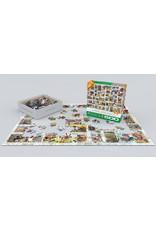 "Eurographics ""Wildlife Vintage Stamps""  500 Piece Puzzle"