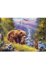 "Eurographics ""Grizzly Cubs"" 500 Piece Puzzle"