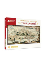 """Pomegranate """"An Anciente Mappe of Fairyland""""  1000 Piece Puzzle"""