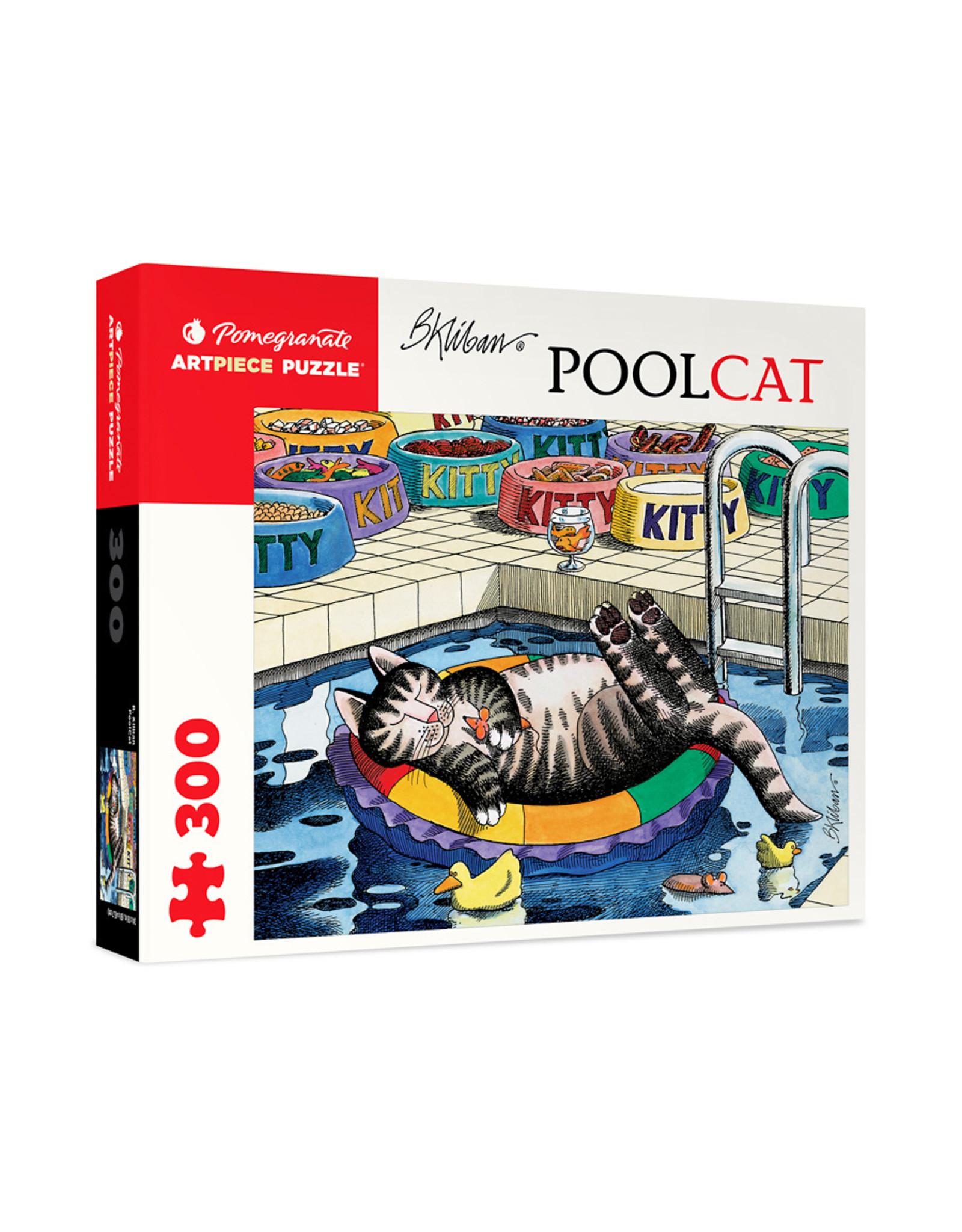 "Pomegranate ""PoolCat"" 300 Piece Puzzle"