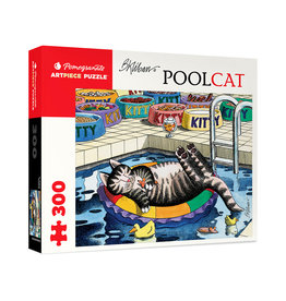 "Pomegranate ""PoolCat"" 300 Piece Puzzle"