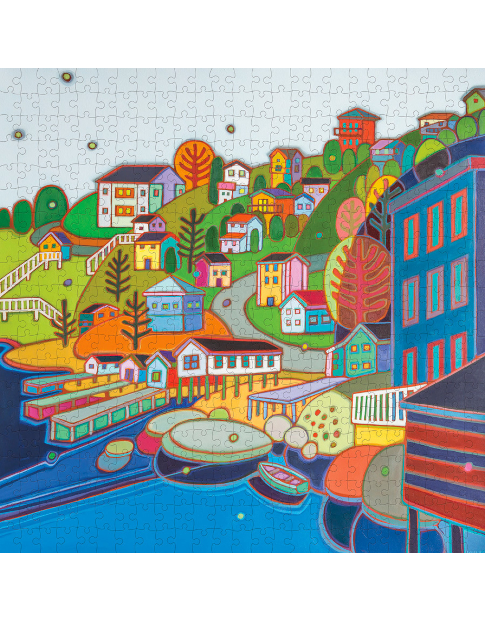"Pomegranate ""Jellybean Hill"" 500 Piece Puzzle"