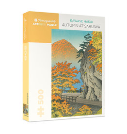 "Pomegranate ""Autumn at Saruiwa"" 500 Piece Puzzle"