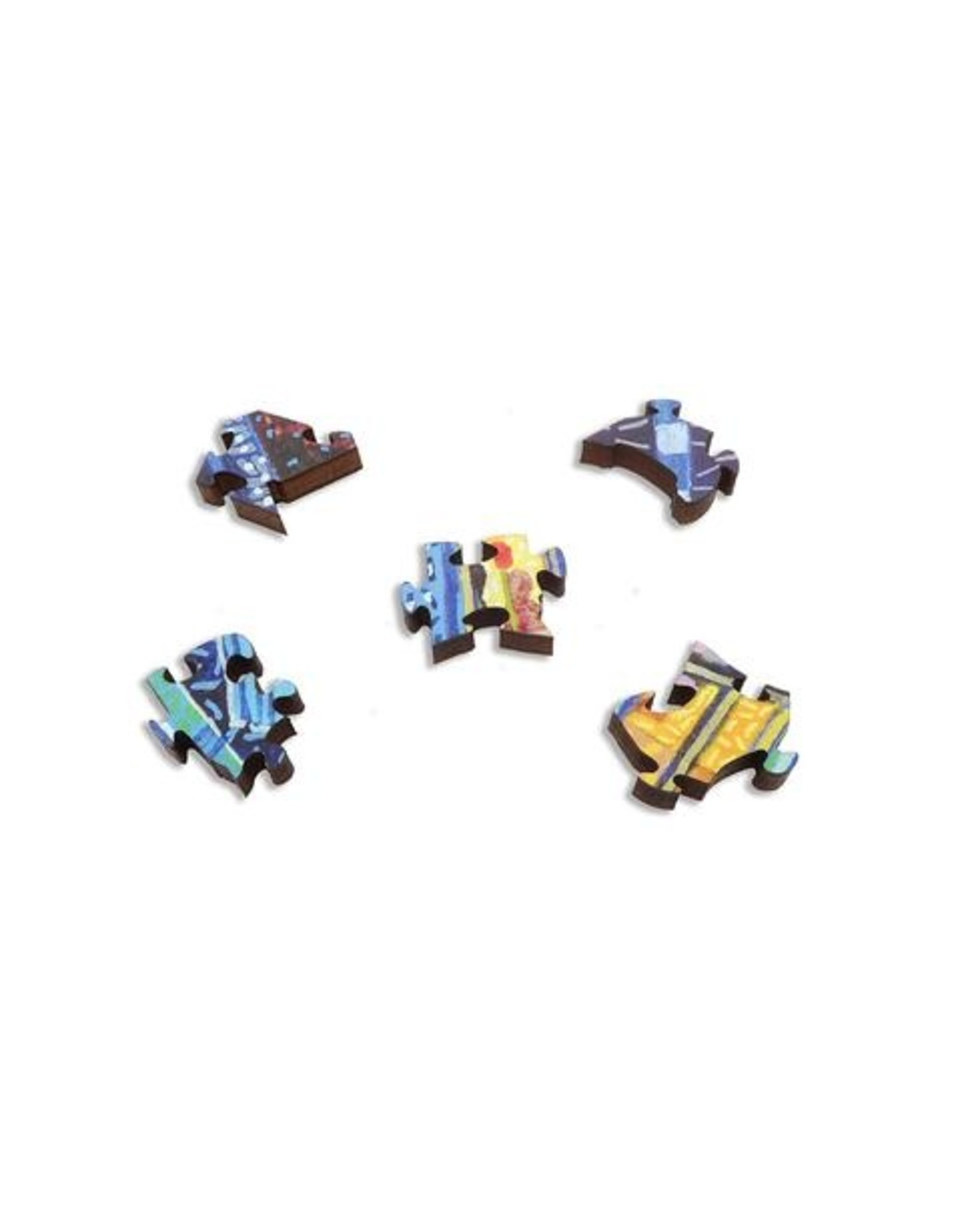 """Artifact Puzzles """"The Just Reproach"""" Wooden Jigsaw Puzzle"""