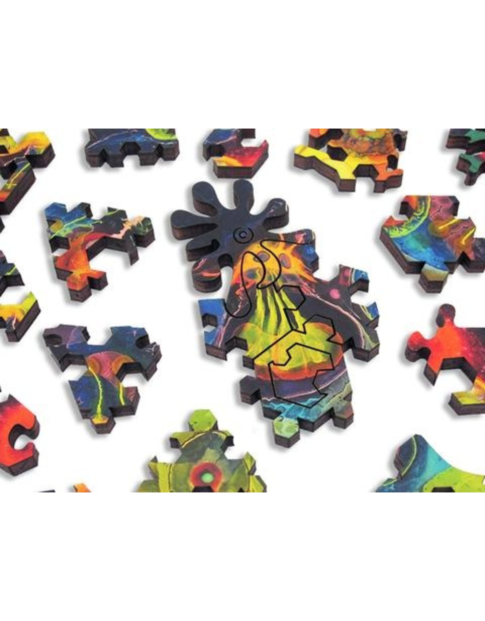 """Artifact Puzzles """"Stem Cell"""" Wooden Jigsaw Puzzle"""
