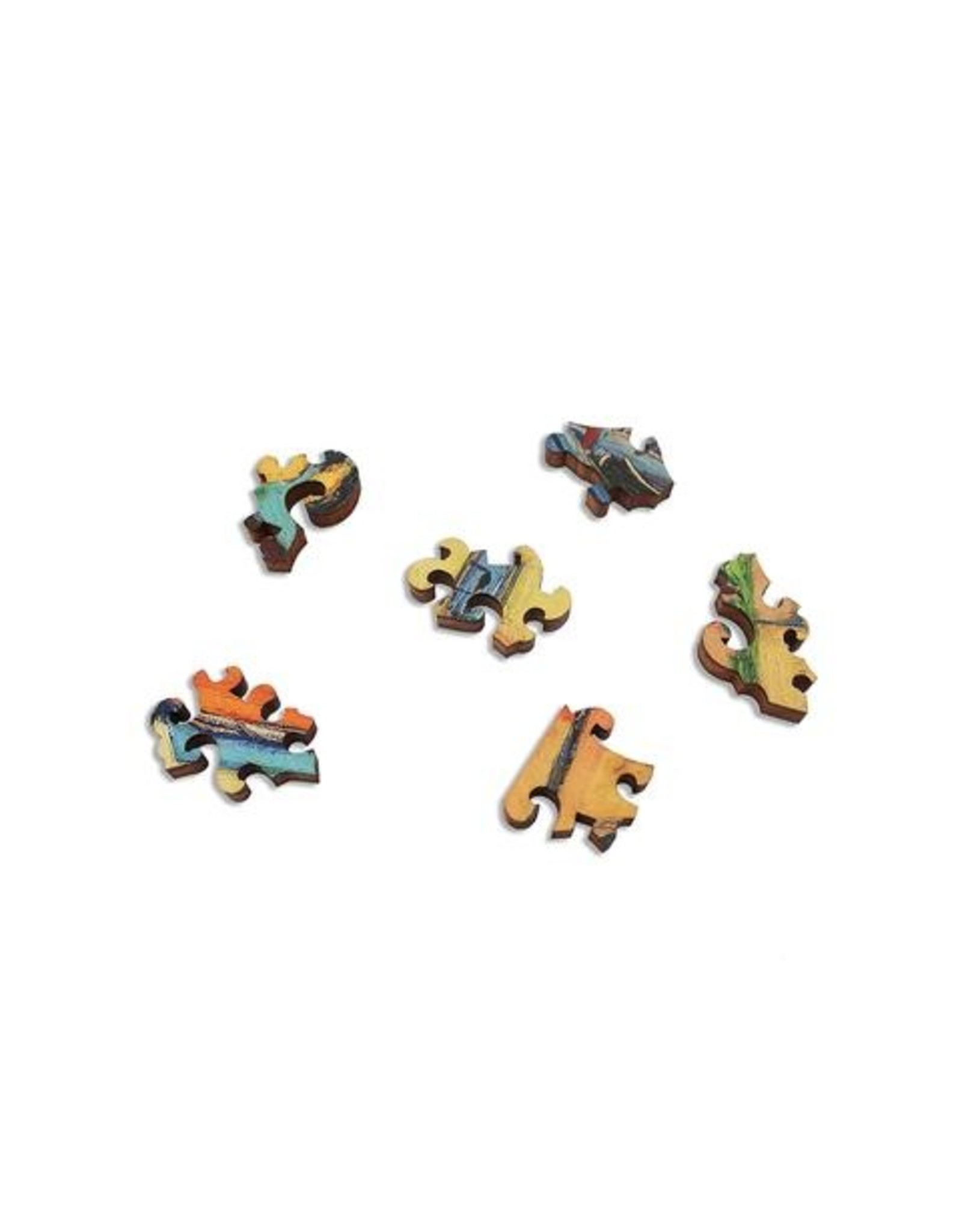 "Artifact Puzzles ""Martigues"" Wooden Jigsaw Puzzle"