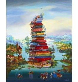 """Artifact Puzzles """"La Connaissance"""" Wooden Jigsaw Puzzle"""