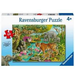 "Ravensburger ""Animals of India"" 60 Piece Puzzle"