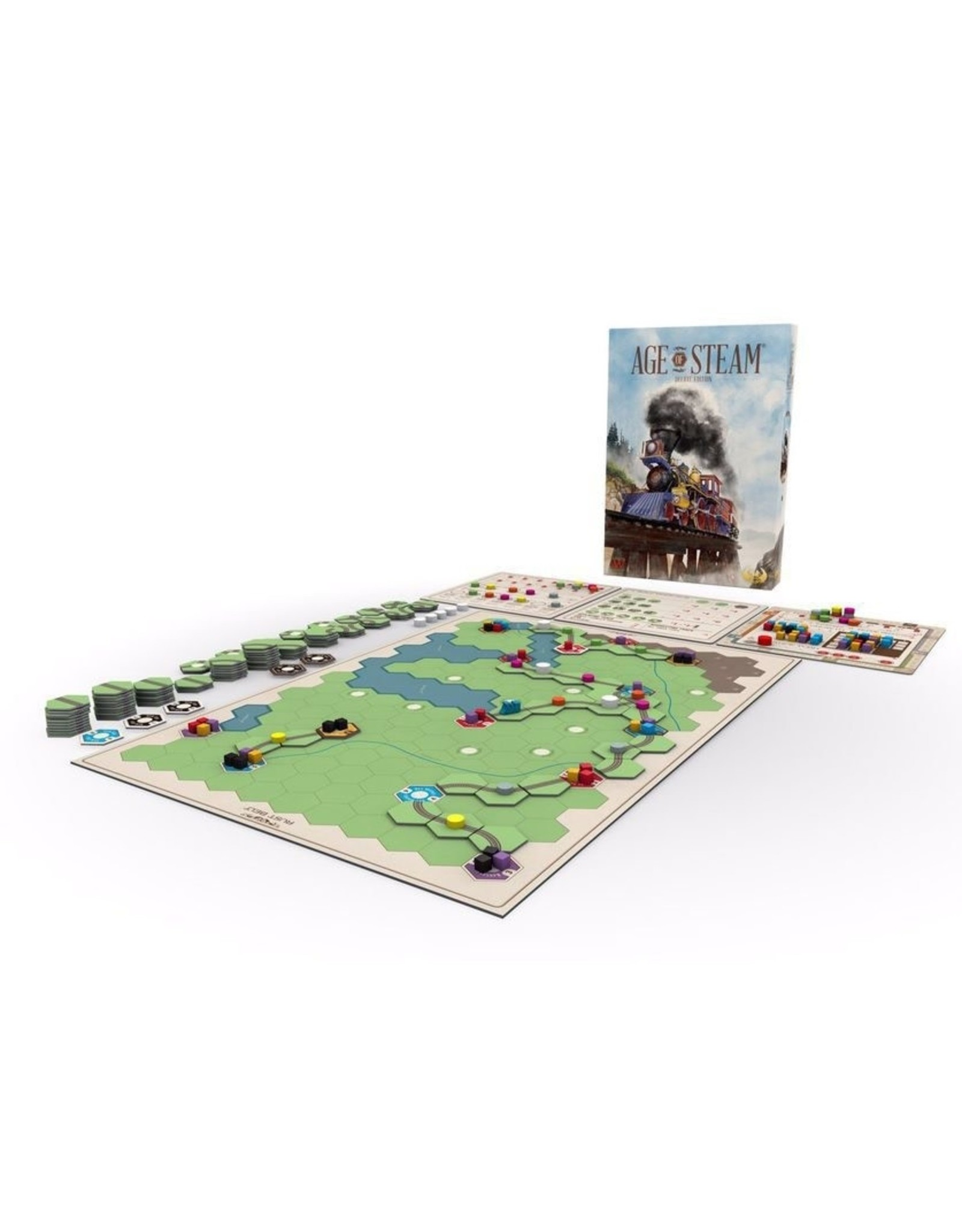 Eagle-Gryphon Games Age of Steam: Deluxe Edition