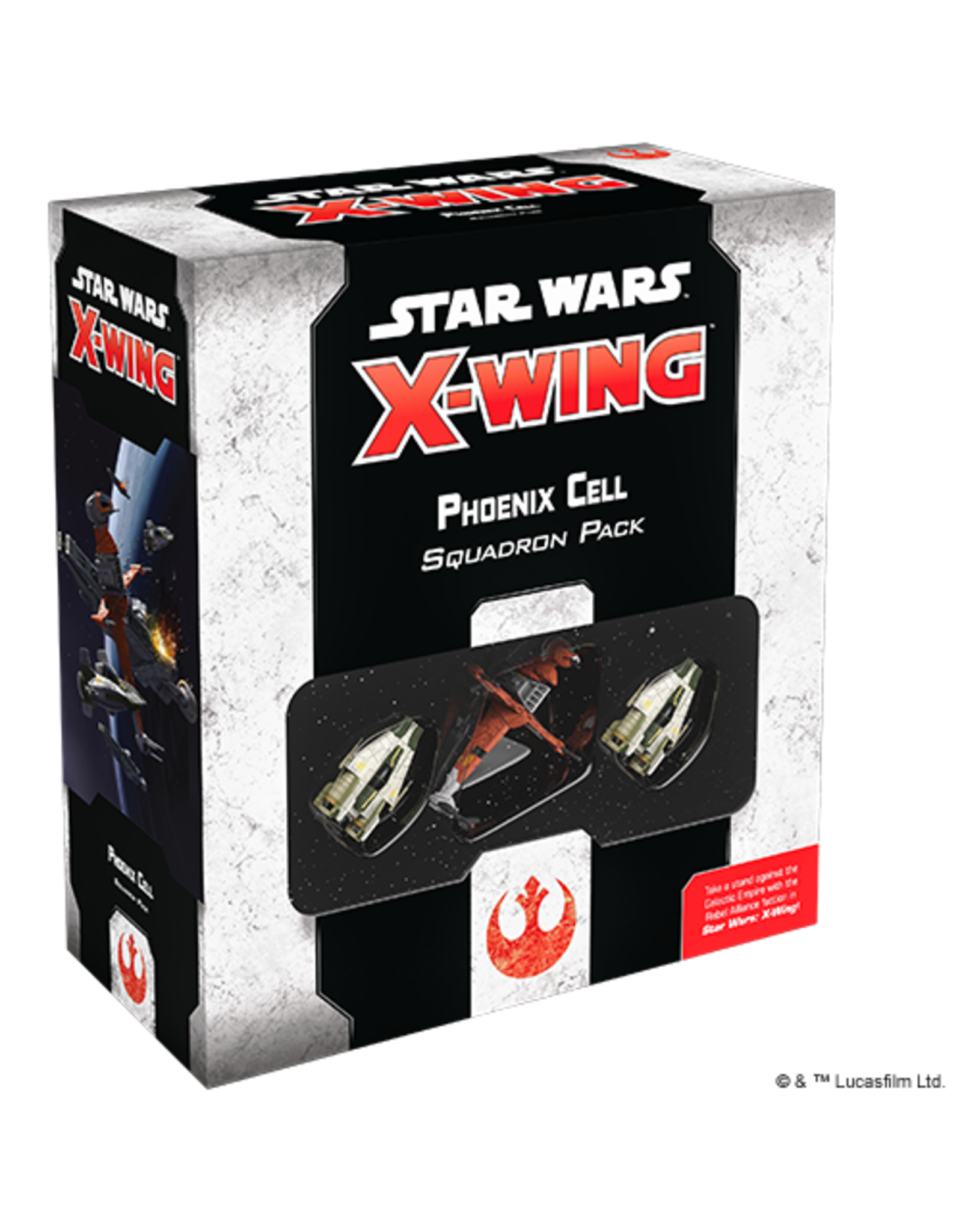 Fantasy Flight Games Star Wars X-Wing: Phoenix Cell Squadron Pack 2nd Ed